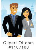 Business Team Clipart #1107100 by Amanda Kate