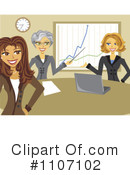 Business Team Clipart #1107102 by Amanda Kate