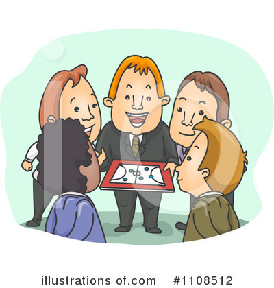 Business Team Clipart #1108512 by BNP Design Studio