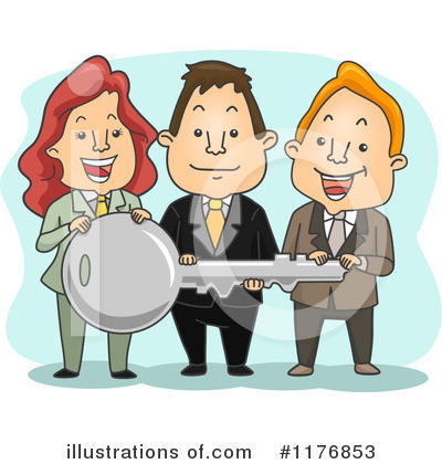 Business Team Clipart #1176853 by BNP Design Studio