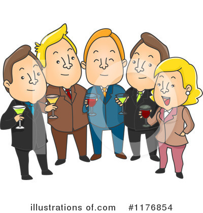 Business Team Clipart #1176854 by BNP Design Studio