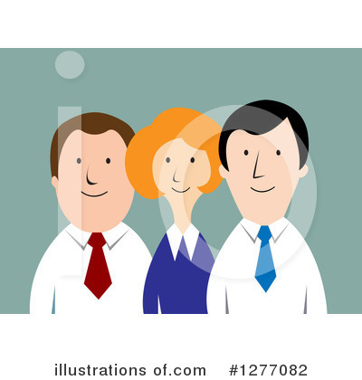 Businessman Clipart #1277082 by Vector Tradition SM