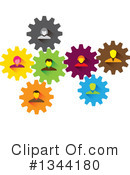 Business Team Clipart #1344180 by ColorMagic