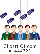 Business Team Clipart #1444728 by ColorMagic