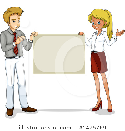 Royalty-Free (RF) Business Team Clipart Illustration by Graphics RF - Stock Sample #1475769