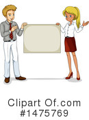 Royalty-Free (RF) Business Team Clipart Illustration #1475769