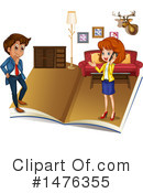 Royalty-Free (RF) Business Team Clipart Illustration #1476355