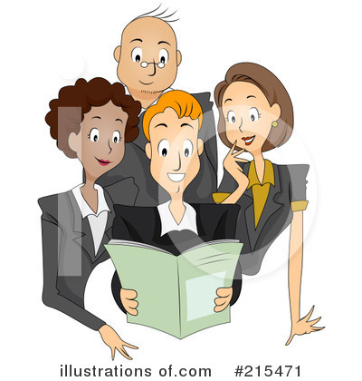 Business Team Clipart #215471 by BNP Design Studio