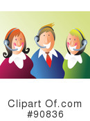 Royalty-Free (RF) Business Team Clipart Illustration #90836