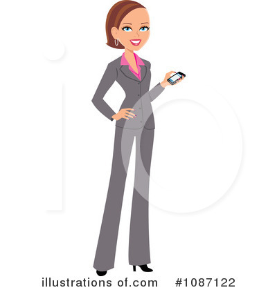 Businesswomen Clipart #1087122 by Monica