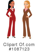 Business Woman Clipart #1087123 by Monica
