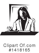 Business Woman Clipart #1418165