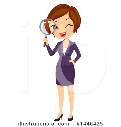 Businesswoman Clipart #1446425 by BNP Design Studio