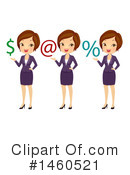 Business Woman Clipart #1460521 by BNP Design Studio