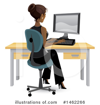 Businesswoman Clipart #1462266 by Amanda Kate