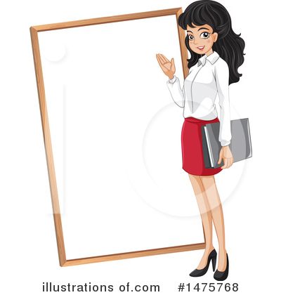 Royalty-Free (RF) Business Woman Clipart Illustration by Graphics RF - Stock Sample #1475768