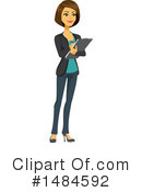 Business Woman Clipart #1484592