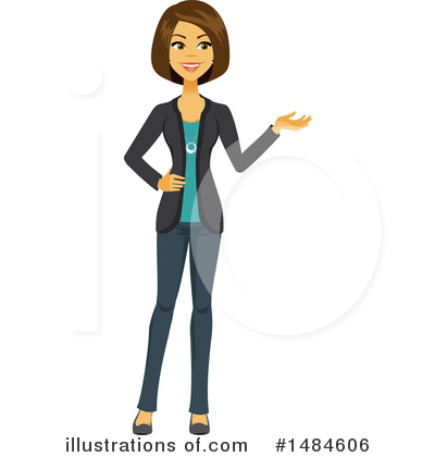 Businesswoman Clipart #1484606 by Amanda Kate