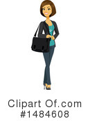 Business Woman Clipart #1484608 by Amanda Kate