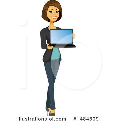 Laptop Clipart #1484609 by Amanda Kate