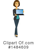 Business Woman Clipart #1484609 by Amanda Kate
