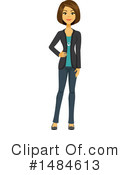 Business Woman Clipart #1484613 by Amanda Kate