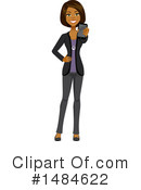 Business Woman Clipart #1484622 by Amanda Kate
