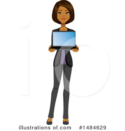 Laptop Clipart #1484629 by Amanda Kate