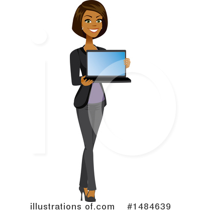 Laptop Clipart #1484639 by Amanda Kate