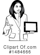 Business Woman Clipart #1484666 by Lal Perera