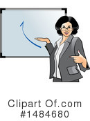 Business Woman Clipart #1484680 by Lal Perera