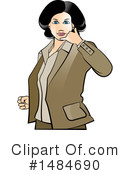 Business Woman Clipart #1484690 by Lal Perera