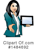 Business Woman Clipart #1484692 by Lal Perera