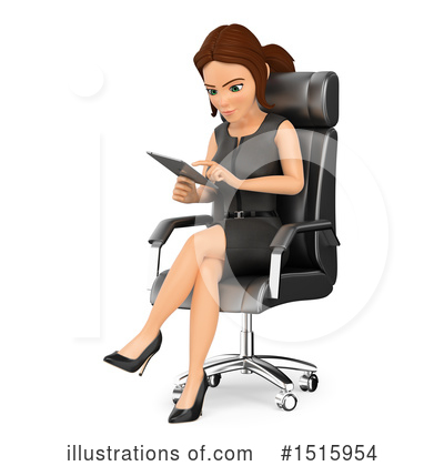 Business Woman Clipart #1515954 by Texelart