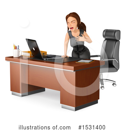 Business Woman Clipart #1531400 by Texelart
