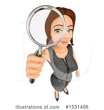 Business Woman Clipart #1531406 by Texelart