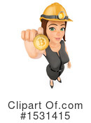 Business Woman Clipart #1531415 by Texelart