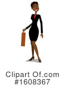 Business Woman Clipart #1608367 by peachidesigns