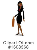 Business Woman Clipart #1608368 by peachidesigns