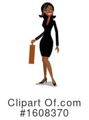 Business Woman Clipart #1608370 by peachidesigns