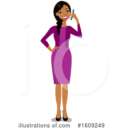 Business Woman Clipart #1609249 by peachidesigns