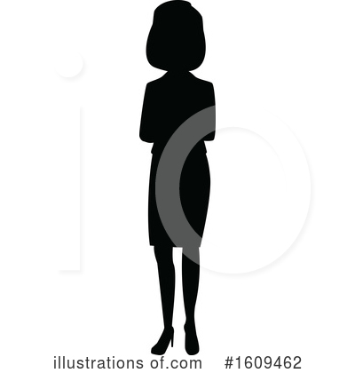 Business Woman Clipart #1609462 by peachidesigns