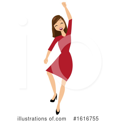 Business Woman Clipart #1616755 by peachidesigns