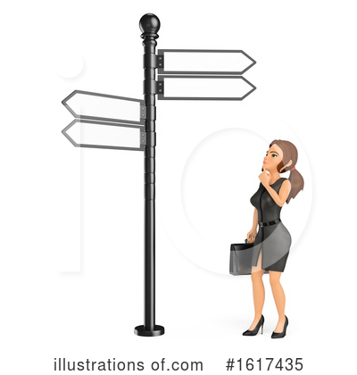 Royalty-Free (RF) Business Woman Clipart Illustration by Texelart - Stock Sample #1617435