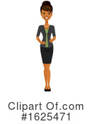 Business Woman Clipart #1625471 by Amanda Kate