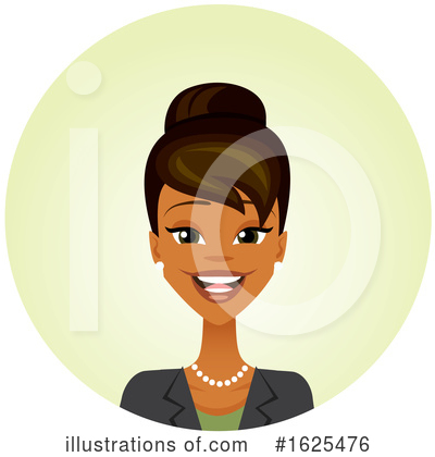 Royalty-Free (RF) Business Woman Clipart Illustration by Amanda Kate - Stock Sample #1625476