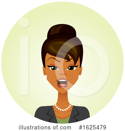 Royalty-Free (RF) Business Woman Clipart Illustration by Amanda Kate - Stock Sample #1625479