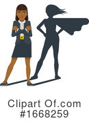 Business Woman Clipart #1668259 by AtStockIllustration
