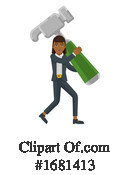 Business Woman Clipart #1681413 by AtStockIllustration