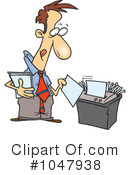 Royalty-Free (RF) Businessman Clipart Illustration #1047938